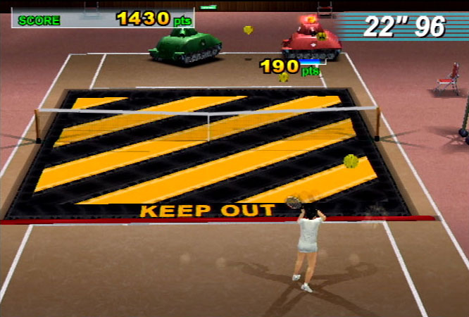 Sega Sports Tennis Screenshot #4 for PS2