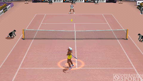 Smash Court Tennis 3 Screenshot #1 for PSP