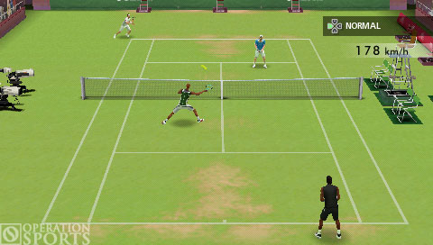 Smash Court Tennis 3 Screenshot #3 for PSP