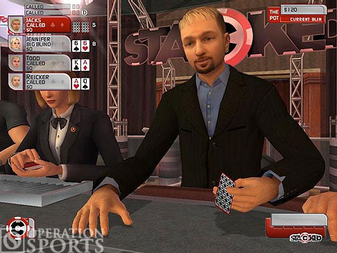 Stacked with Daniel Negreanu Screenshot #1 for PS2