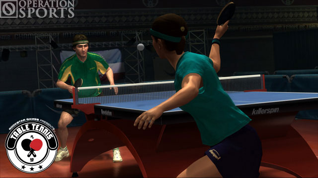 Table Tennis Screenshot #4 for Xbox 360