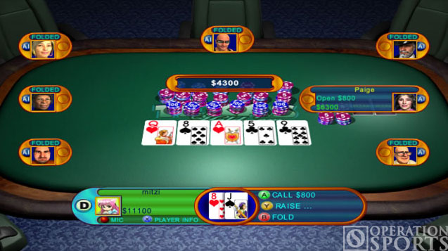 Texas Hold 'Em Screenshot #1 for Xbox 360