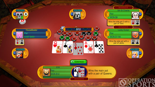 Texas Hold 'Em Screenshot #2 for Xbox 360