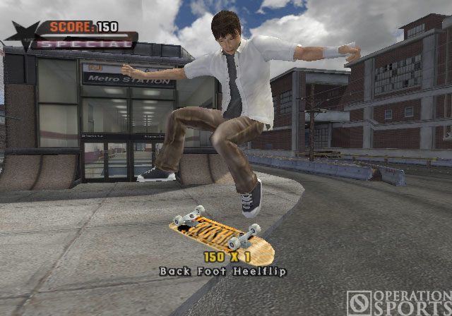 Tony Hawk's Underground Screenshot #1 for PS2