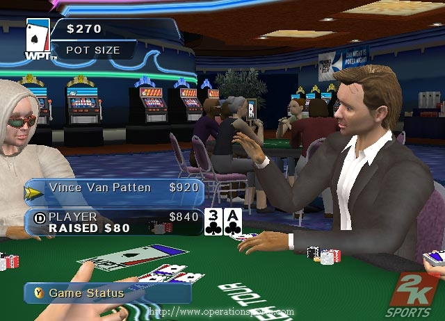 World Poker Tour Screenshot #1 for Xbox