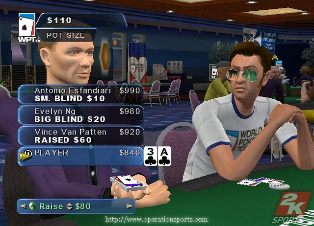 World Poker Tour Screenshot #2 for Xbox