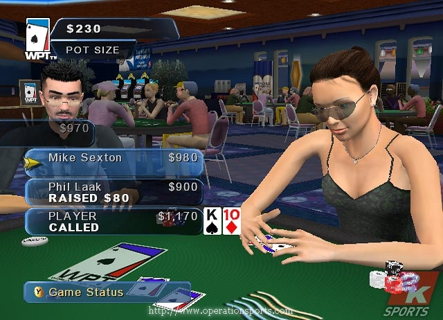 World Poker Tour Screenshot #3 for Xbox