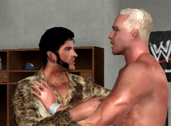 WWE Smackdown: Shut Your Mouth Screenshot #3 for PS2