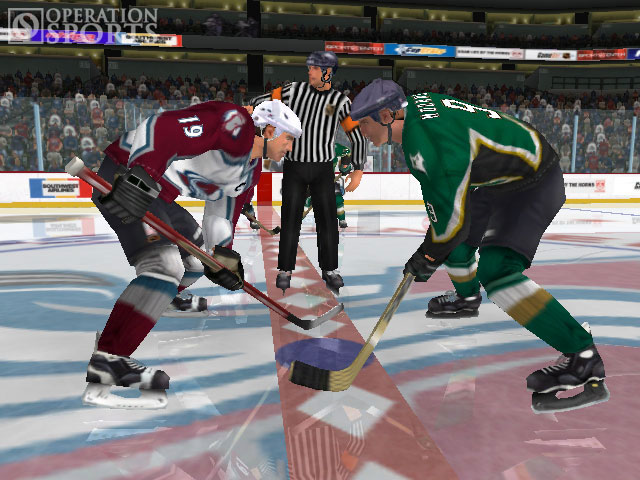 NHL 2K3 Screenshot #1 for Xbox