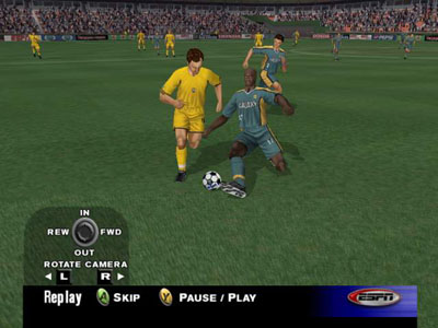 ESPN MLS Extra Time 2002 Screenshot #1 for Xbox