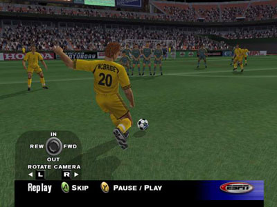 ESPN MLS Extra Time 2002 Screenshot #2 for Xbox