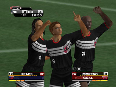 ESPN MLS Extra Time 2002 Screenshot #3 for Xbox
