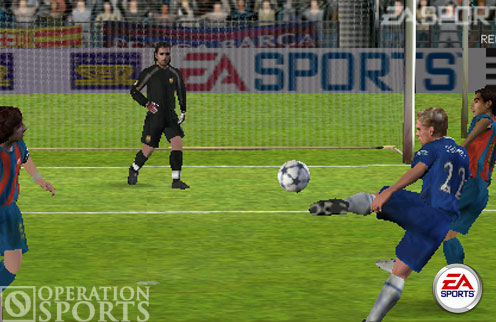 FIFA Soccer PSP Screenshot #1 for PSP