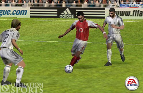FIFA Soccer PSP Screenshot #2 for PSP