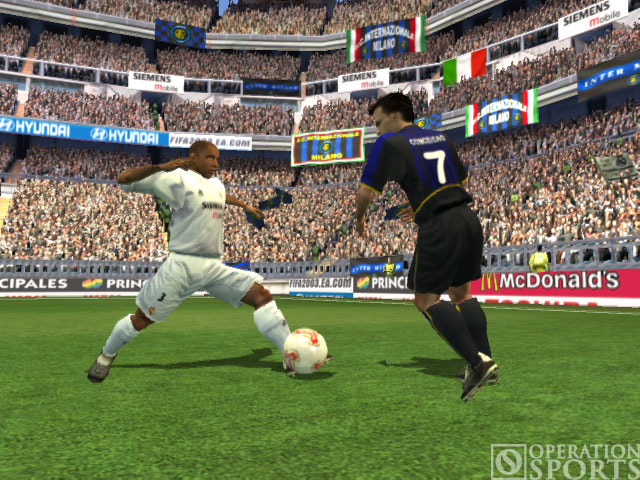 FIFA Soccer 2003 Screenshot #1 for Xbox