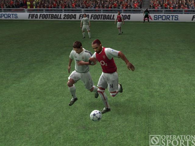 FIFA Soccer 2004 Screenshot #2 for Xbox