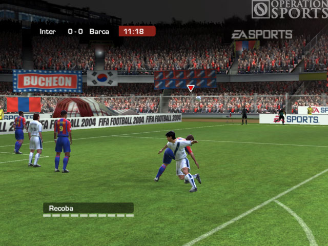 FIFA Soccer 2004 Screenshot #4 for Xbox