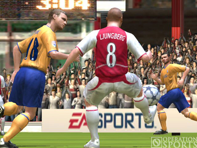 FIFA Soccer 2005 Screenshot #2 for Xbox