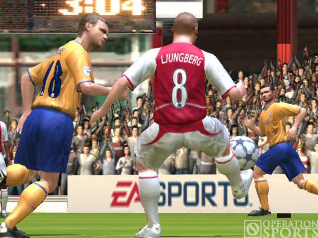 FIFA Soccer 2005 Screenshot #2 for Xbox