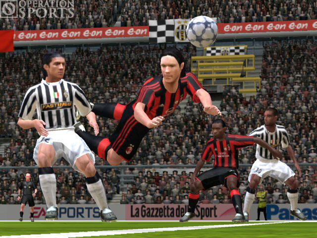 FIFA Soccer 2005 Screenshot #4 for Xbox