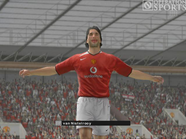 Manchester United Club Football 2005 Screenshot #1 for PC