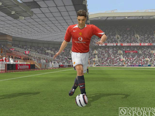 Manchester United Club Football 2005 Screenshot #4 for PC