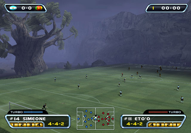 Red Card Soccer 20-03 Screenshot #1 for PS2