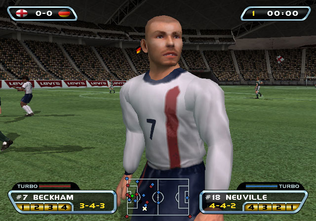 Red Card Soccer 20-03 Screenshot #2 for PS2