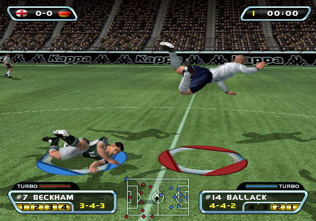 Red Card Soccer 20-03 Screenshot #3 for PS2