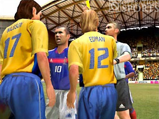 UEFA Euro 2004 Screenshot #3 for Xbox