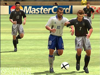 UEFA Euro 2004 Screenshot #4 for Xbox