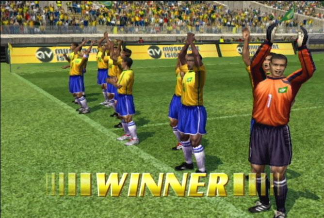 Virtua Striker 2002 Screenshot #1 for NGC