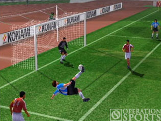 Winning Eleven 6 International Screenshot #1 for PS2