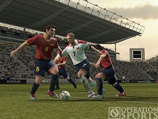 Winning Eleven 8 International Screenshot #1 for Xbox