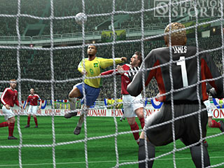 Winning Eleven 8 International Screenshot #2 for Xbox