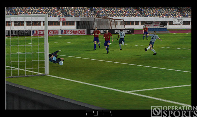 World Tour Soccer Screenshot #2 for PSP