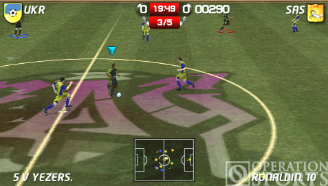 World Tour Soccer 06 Screenshot #1 for PSP