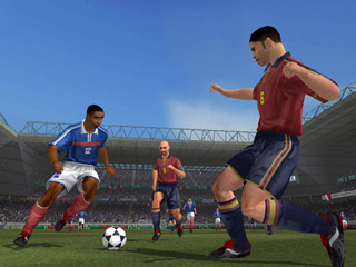 World Tour Soccer 2002 Screenshot #1 for PS2