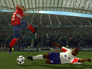 World Tour Soccer 2003 Screenshot #1 for PS2