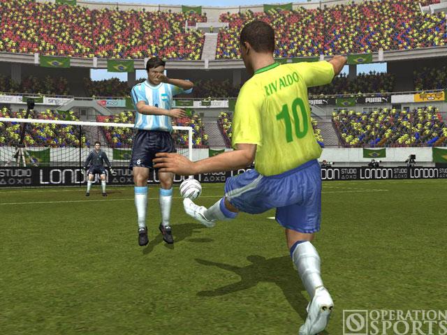 World Tour Soccer 2006 Screenshot #2 for PS2