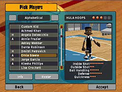Backyard Basketball 2007 Screenshot #2 for PS2