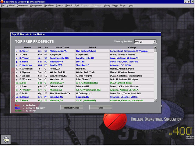 Coaching a Dynasty Screenshot #2 for PC