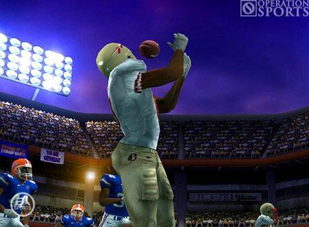 NCAA Football 07 Screenshot #1 for PSP