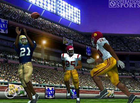 NCAA Football 07 Screenshot #2 for PSP