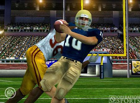 NCAA Football 07 Screenshot #3 for PSP