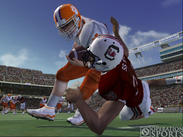 NCAA Football 07 Screenshot #1 for Xbox