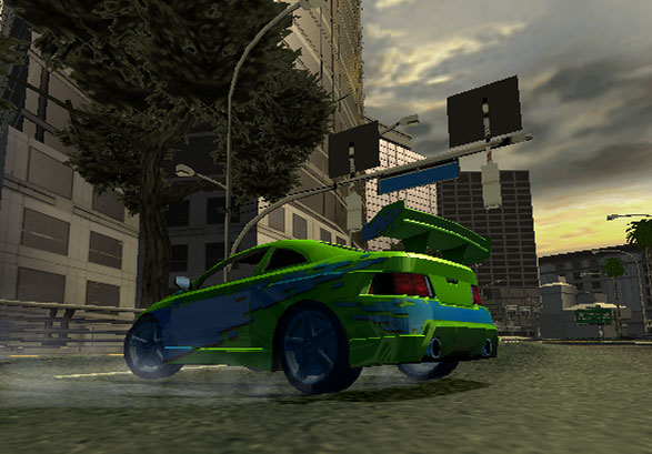 Burnout 2: Point of Impact Screenshot #1 for PS2
