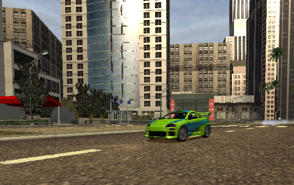 Burnout 2: Point of Impact Screenshot #4 for PS2