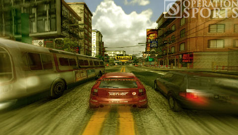 Burnout Legends Screenshot #1 for PSP