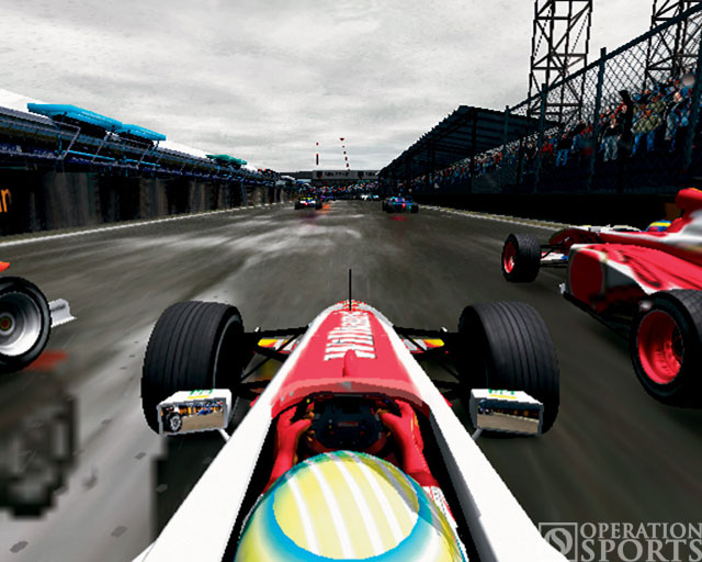 F1 Career Challenge Screenshot #1 for PS2